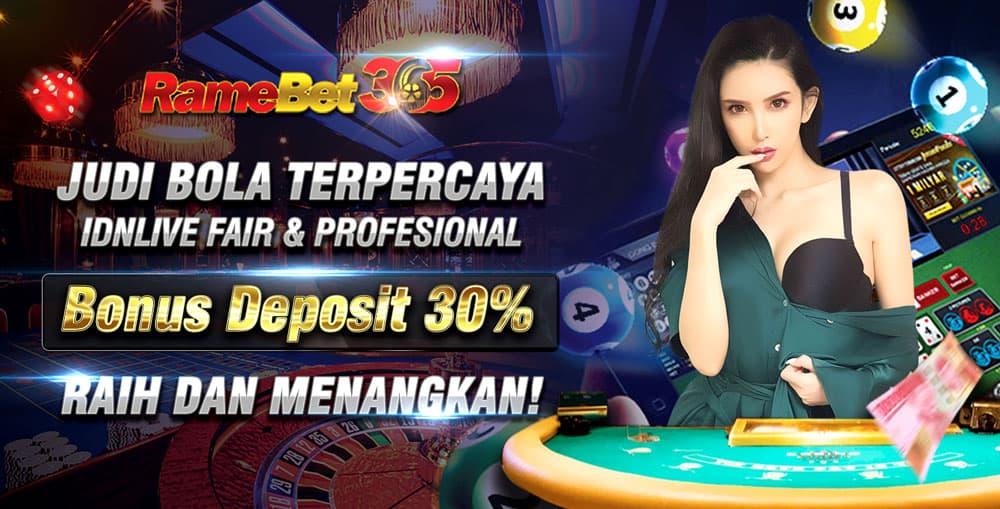 Bonus Deposit 30%!
