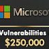 Microsoft Wants to Pay You $250,000 To Find CPU Vulnerabilities