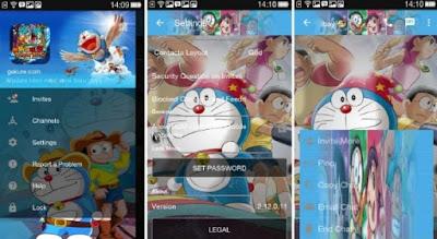 Download BBM Mod Doraemon 3D Apk 2.13.1.14 Terbaru