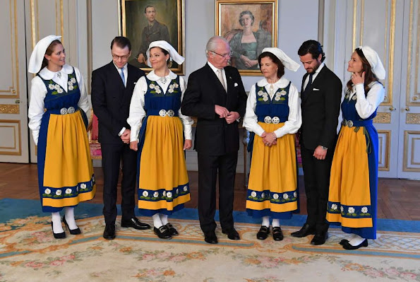 Reception at the Royal Palace of Stockholm