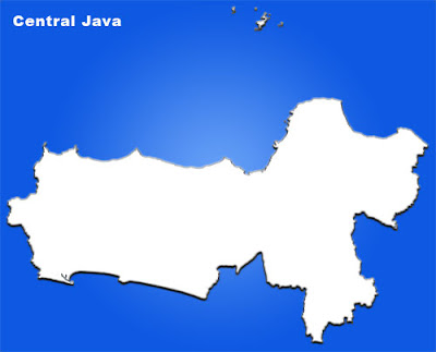 image: central java blank map