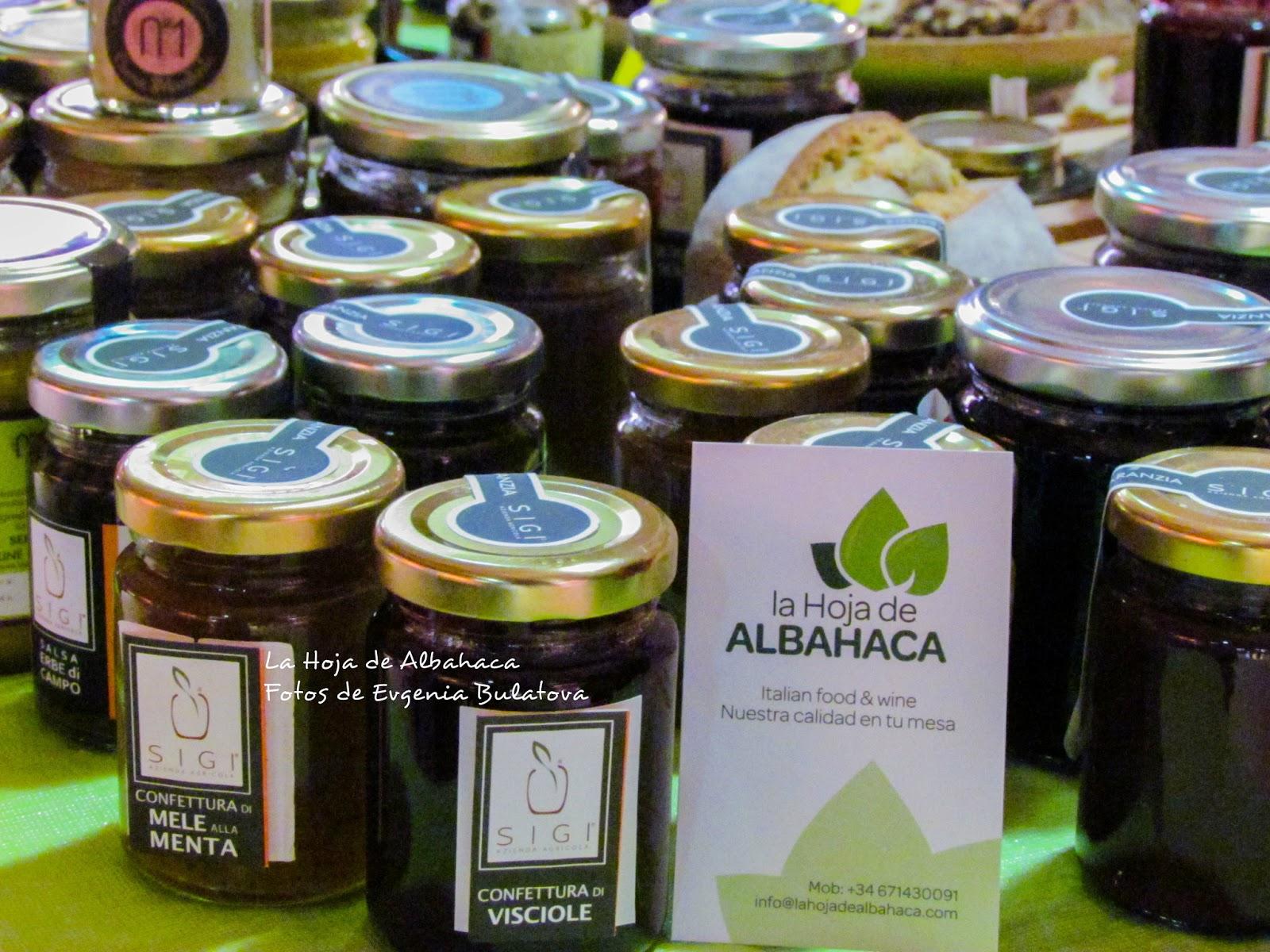 la tienda de la hoja, mermeladas ecológicas,azienda agricola Si.Gi. cremas de chocolate naturales