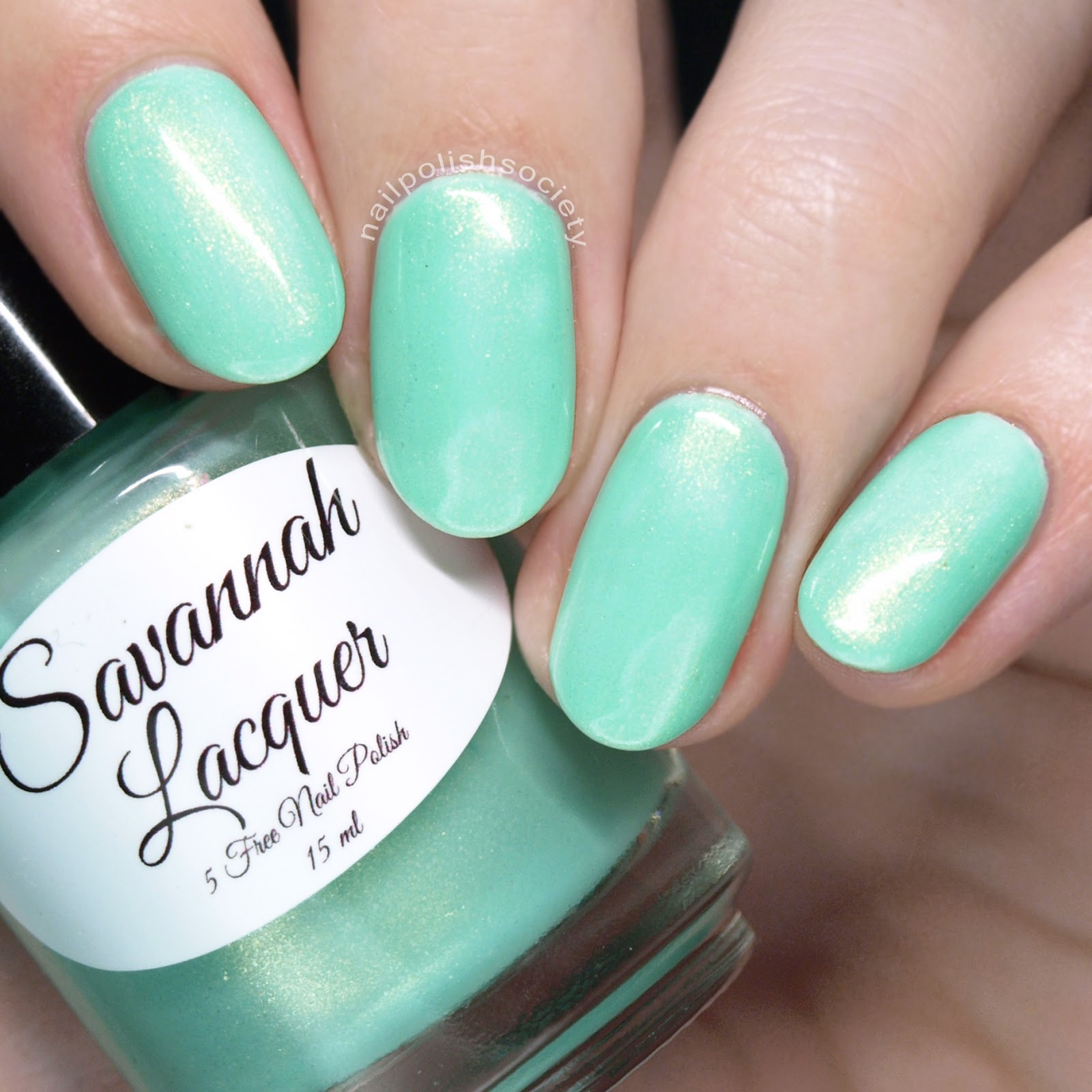 Nail Polish Society: Savannah Lacquer Salt Water Taffy Part 2 Collection