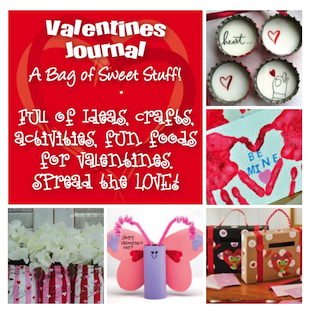 Planetpals valentine journal ideas crafts cards more