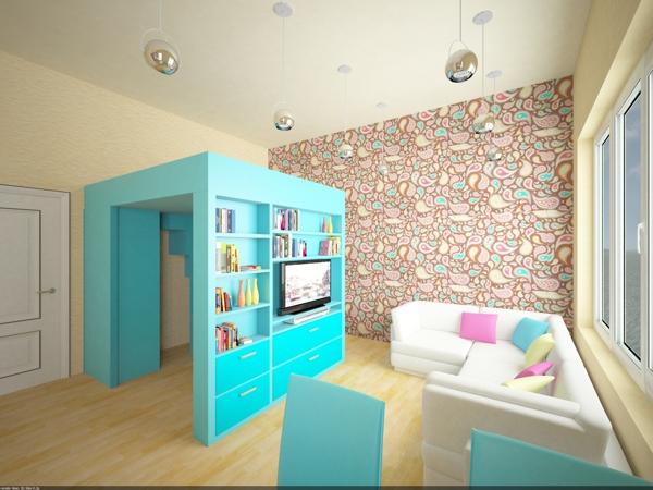 Marcenaria inteligente para quarto pequeno. Blog Achados de Decoração