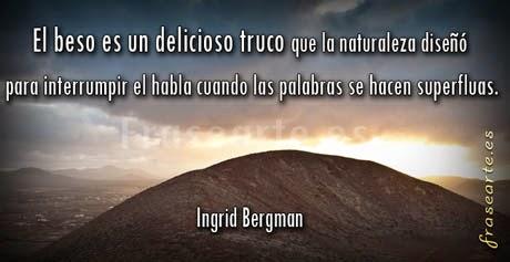 Mensajes de amor de Ingrid Bergman