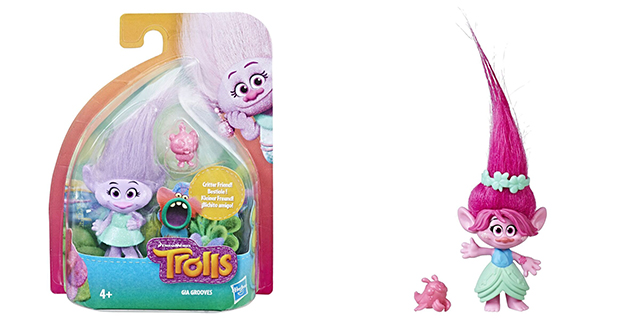 trolls figuur verpakking