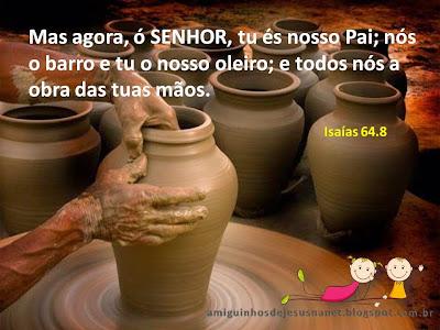 Versículo bíblico para meditação Isaías 64