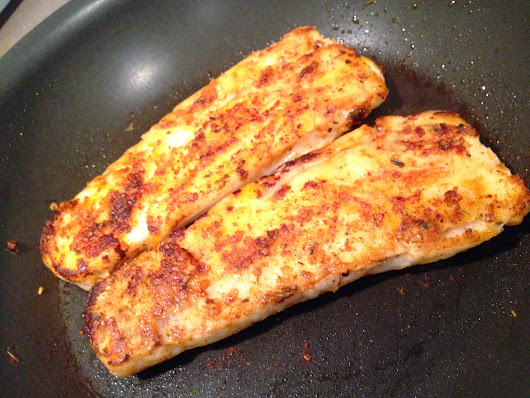 BLACKENED HAKE FISH