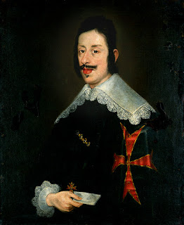 Ferdinando II, the Grand Duke of Tuscany, portrayed by Flemish painter Justus Sustermans