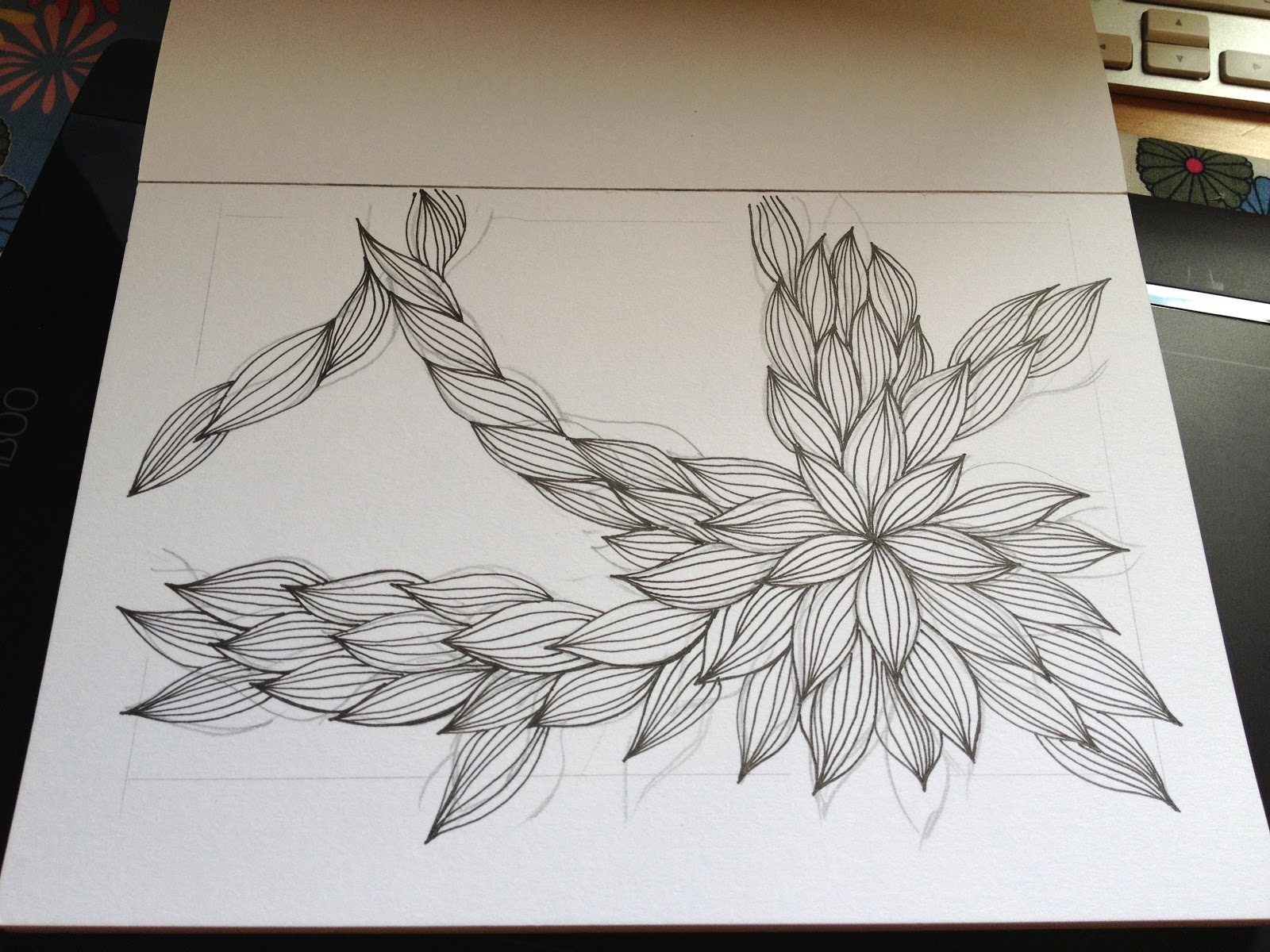 Kalo Make Art Bespoke Wedding Invitation Designs: Drawing FunEasy Cool Designs To Draw On Paper