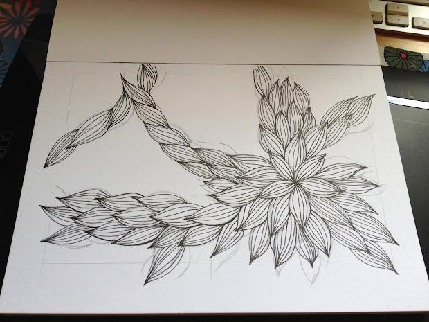 Kalo Make Art Bespoke Wedding Invitation Design Drawing Fun