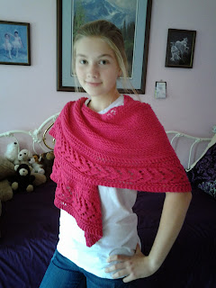 Knitting Pattern Dry Falls Shawl