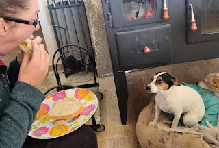 Bacon and Egg butties and Louise wants some