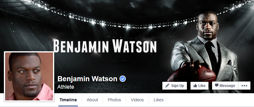 https://www.facebook.com/BenjaminWatsonOfficial
