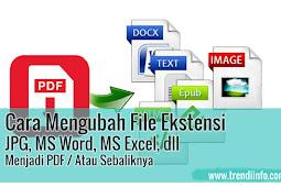 Cara Mengubah File JPG, Ms Word, Ms Excel, Menjadi PDF Dengan Nitro PDF Creator