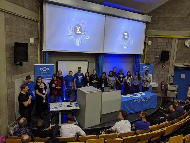 Nextcloud Conference 2019 closing