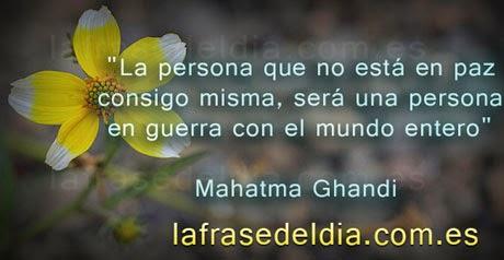 Frases motivadores de Mahatma Gandhi