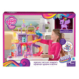 My Little Pony Friendship Rainbow Kingdom Playset Twilight Sparkle Brushable Pony