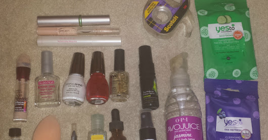 Recent Empties - Make-Up & Polish