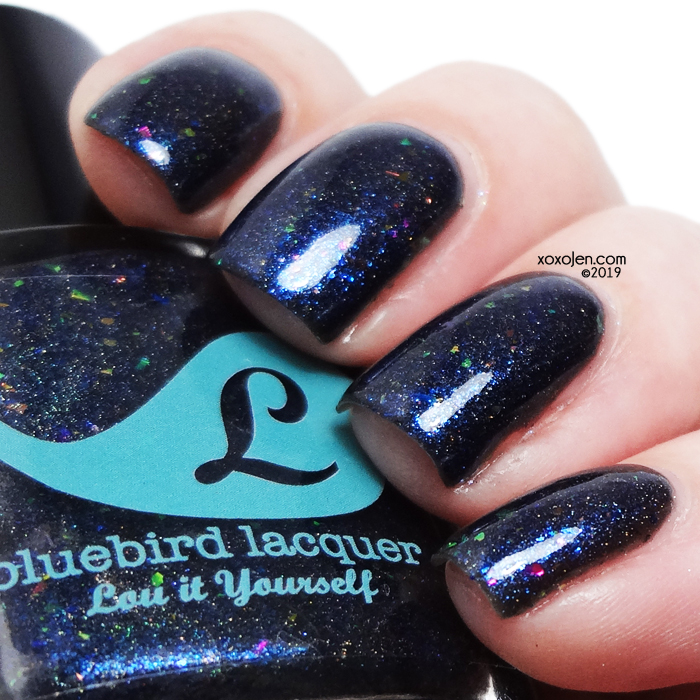 xoxoJen's swatch of Bluebird Lacquer's Cat Ass Trophy