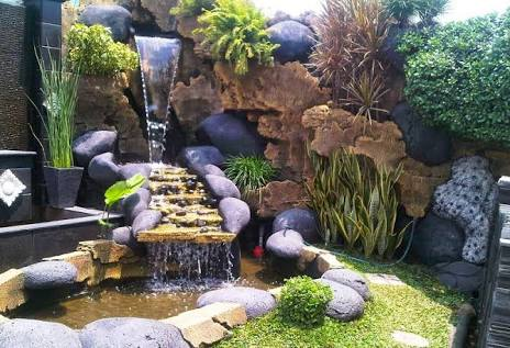 relief tebing - jasa pembuatan taman manado sulawesi utara