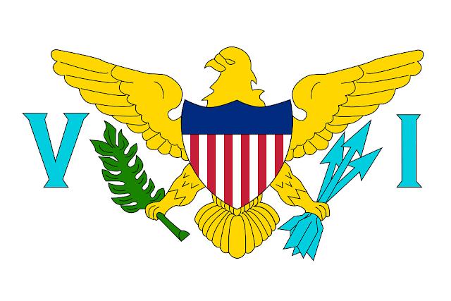Bandera de Islas Vírgenes de los Estados Unidos