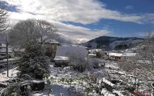 Neve - Vila do Caramulo