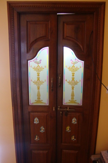 Pooja Room Door Designs Pooja Room: BAVAS WOOD WORKS: Pooja Room Door Frame And Door Designs