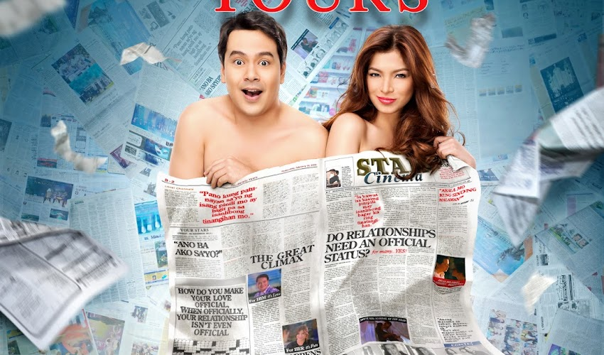 "Movie: ""Unofficially Yours"" with John Lloyd and Angel Locsin"