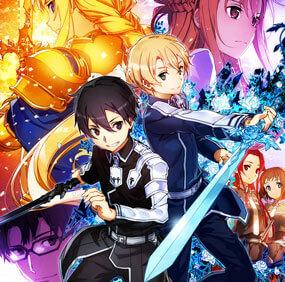 جميع حلقات الأنمي Sword Art Online S3 مترجم