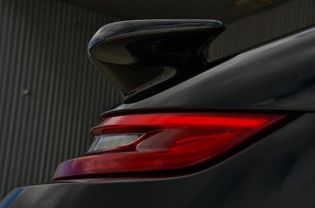2016 New Porsche  Turbo 911 Cabriolet Performance back light view