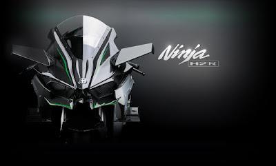 2016 Kawasaki Ninja H2R front view