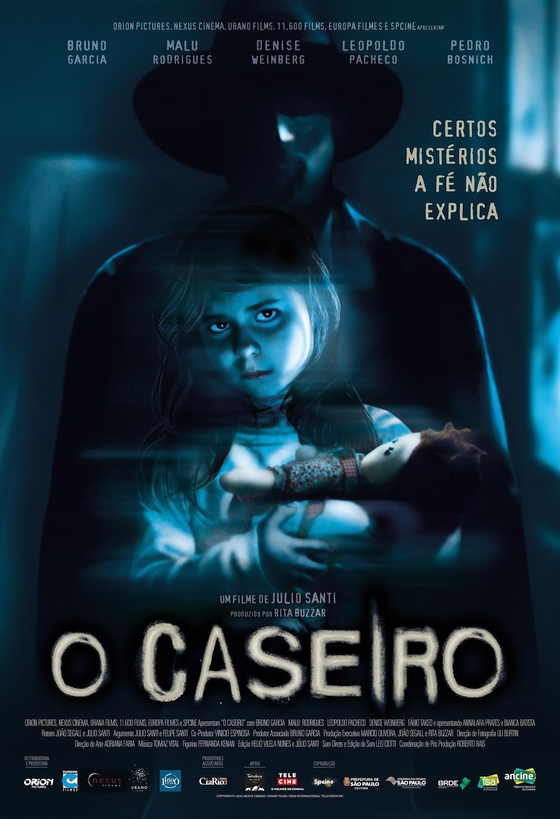 """Imagens e trailer de """"O Caseiro"""" com Bruno Garcia e Denise Weinberg"""