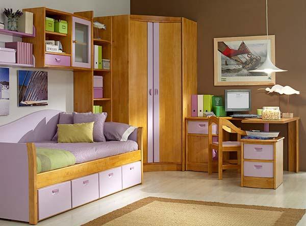 Decoracion actual de moda muebles modulares para el for Habitaciones infantiles garabatos