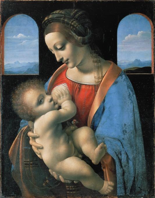 Madonna Litta (attributed – 1481-97)