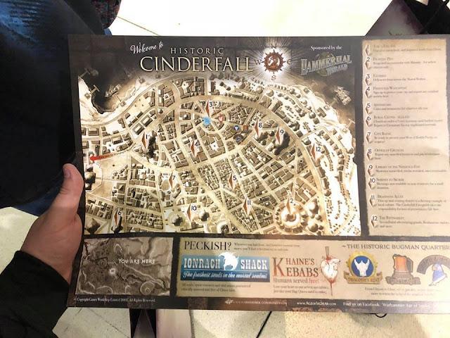Mapa de Cinderfall
