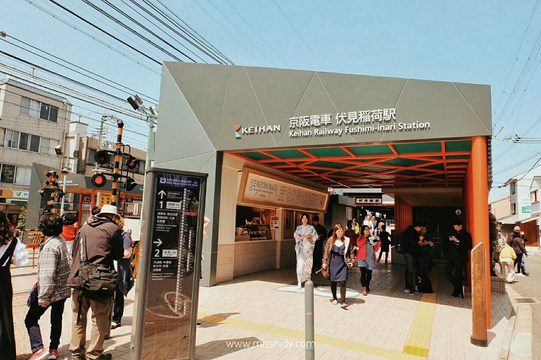 coin locker at fushimi inari station