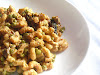 Vegan Macaroni and Cheese with Green Peas
