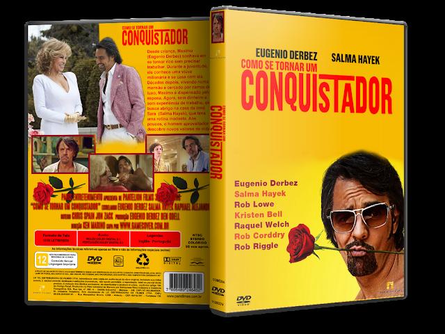 capa dvd Como Se Tornar Um Conquistador