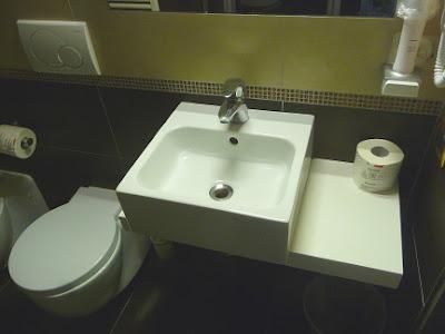 Private Bathroom Hotel Torino in Venice
