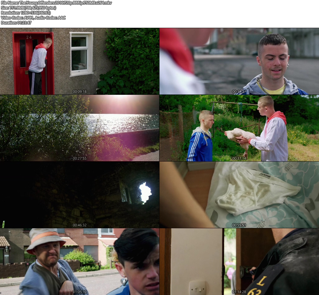 The Young Offenders 2016 720p BRRip 750MB x264 Screenshot