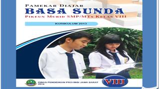 Buku Paket Bahasa Sunda Kelas 8 Kurikulum 2013 Revisi 2017