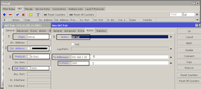 Cara Forward Port CCTV di Mikrotik via Winbox