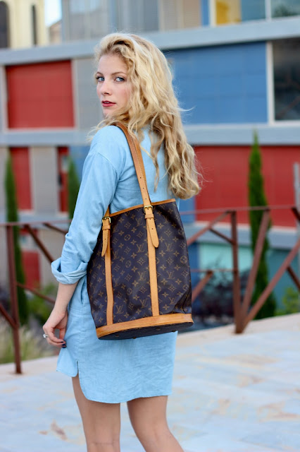 Chambray and Vintage Louis   Cartagena, Spain