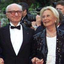Gérard Oury & Michèle Morgan