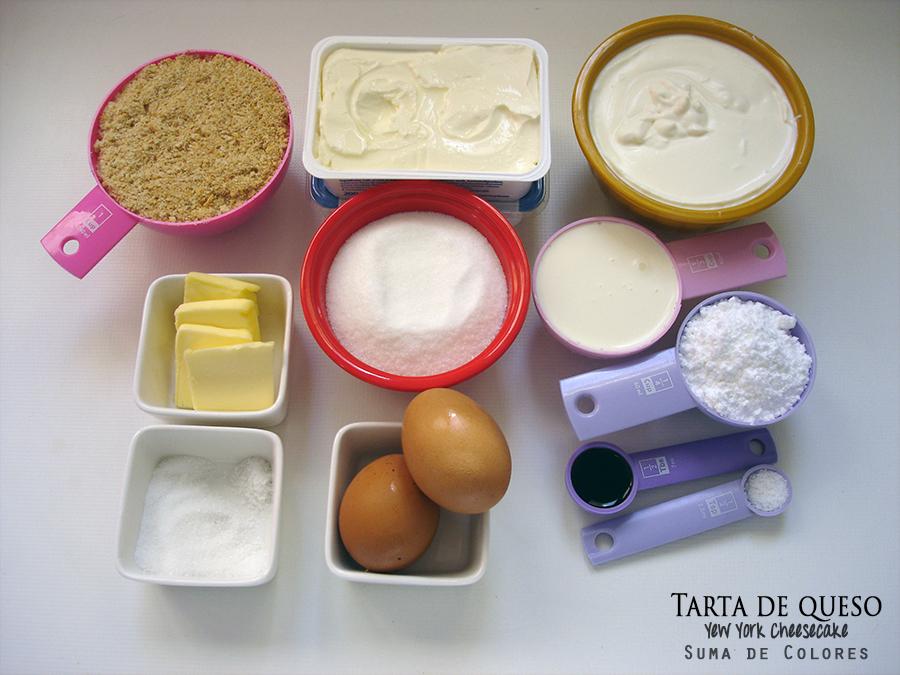 New-York-cheesecake-Ingredientes