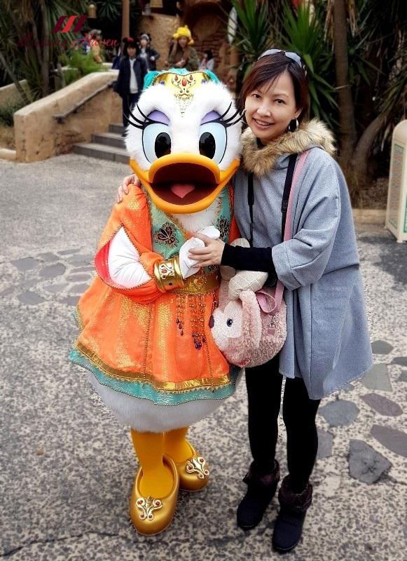 tokyo disneyland resort character meetup daisy duck