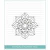 Studio Katia MANDALA FLOWER Clear Stamps STKS019