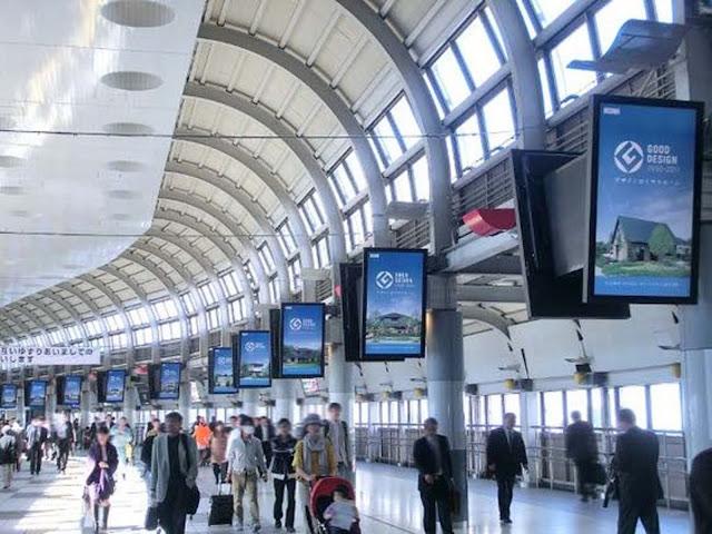 Màn hình quảng cáo tại sân bay giá rẻ 1